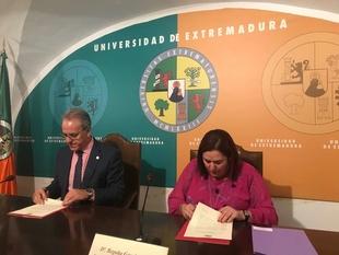 La Universidad de Extremadura se adhiere al Pacto Social y Político por el Ferrocarril