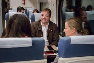 Vara destaca la unidad de los extremeños en la reivindicacion de un tren digno para la región
