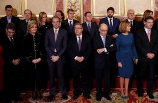 Fernández Vara asiste a la conmemoración del 39 aniversario de la Constitución