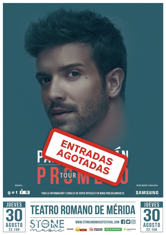 Pablo Alborán cuelga el cartel de 'Entradas Agotadas' para su concierto en Mérida