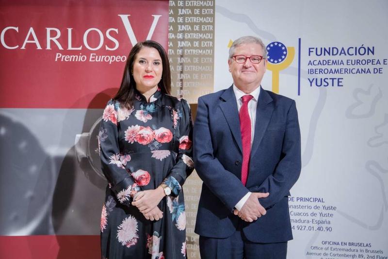 Presentada la XII edición del premio Carlos V, que reconoce el esfuerzo y el compromiso en la construcción de Europa