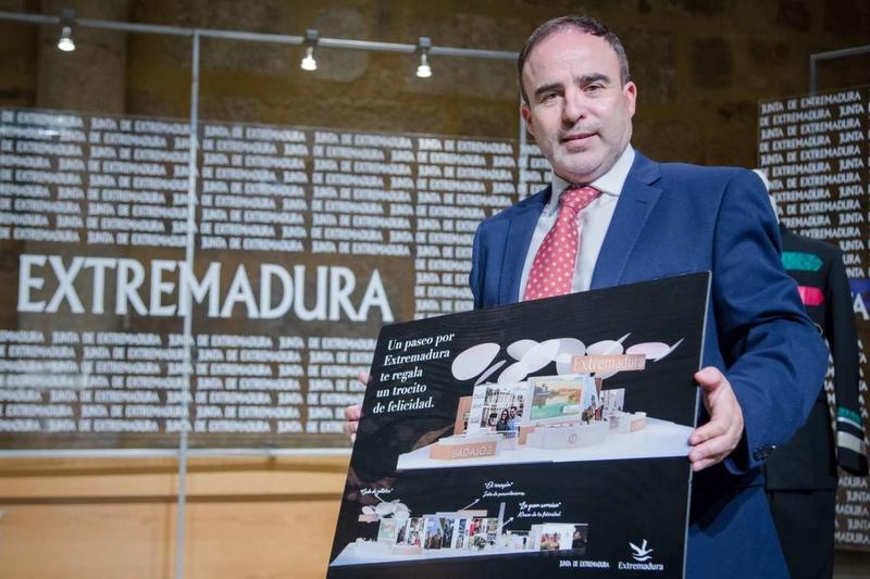La Junta presenta el stand y las actividades de Extremadura en la Feria Internacional de Turismo