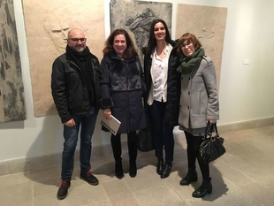 La secretaria general de Cultura define la muestra escultórica 'Identitas' como 'un diálogo entre autores'