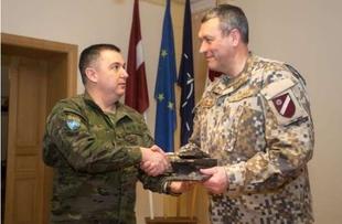 Alto nivel de operatividad del primer contingente español en Letonia en su regreso a casa
