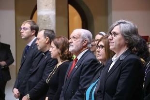 La consejera de Cultura e Igualdad asiste a la entrega de los Premios San Fulgencio de Plasencia