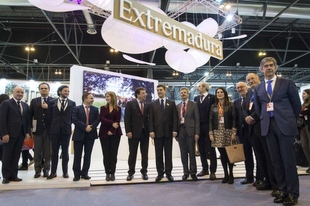 Fernández Vara aboga por la cooperación transfronteriza en materia de turismo entre Extremadura y Portugal