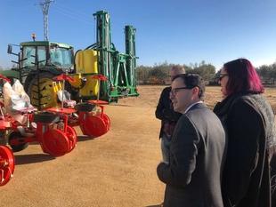 La Junta invierte más de un millón de euros en obras relacionadas con los transportes, el sector agrario y el medio ambiente en Villanueva