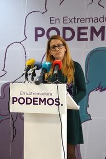 Podemos Extremadura reivindica el espíritu de la manifestación del 18N para seguir luchando por un tren digno
