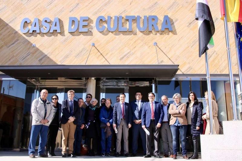 La Junta de Extremadura instala el bucle de inducción magnética en la Casa de Cultura de La Haba