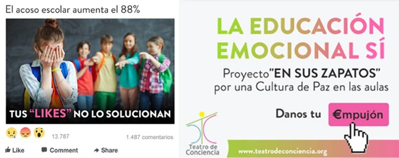 El programa ''En tus zapatos'', contra el acoso escolar, llega a Extremadura tras su exitoso paso por las aulas madrileñas