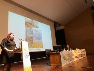 Begoña García destaca en Don Benito la innovación del sector arrocero extremeño