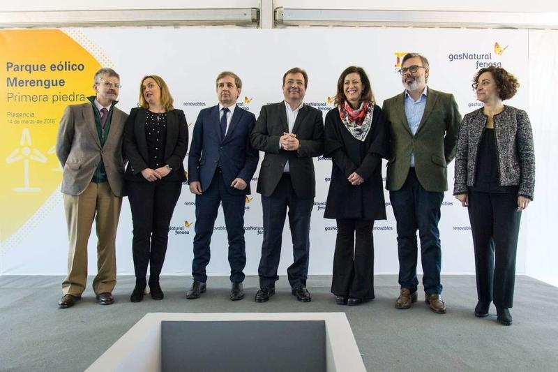 Fernández Vara apuesta por el protagonismo de Extremadura en las energías renovables