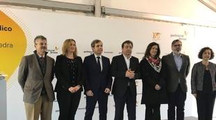 Blanca Martín visita el parque eólico ''El Merengue'' con motivo del inicio de las obras