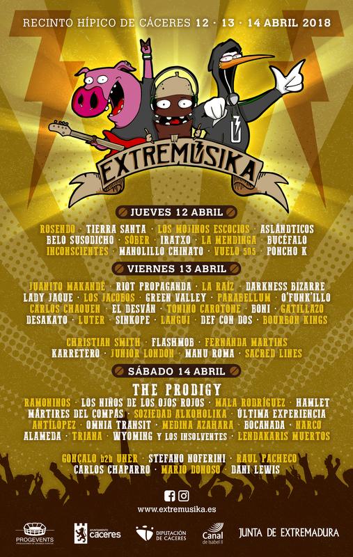 Extremúsika saca a la venta sus entradas diarias