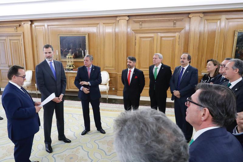 CETEX participa en el acto real de la Federación Española de Hostelería