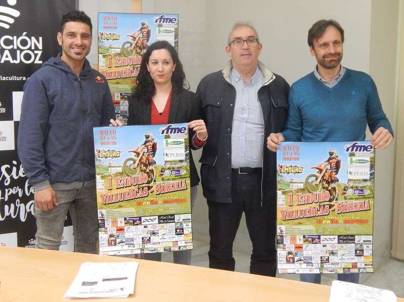 El primer campeonato 'Enduro Villuercas-Siberia' recorrerá desde Valdecaballeros a Cañamero