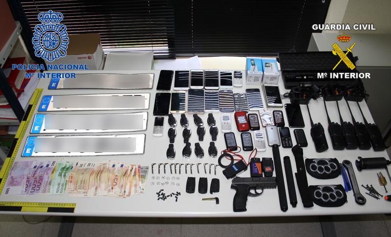 Desarticulado un grupo itinerante responsable de 39 robos
