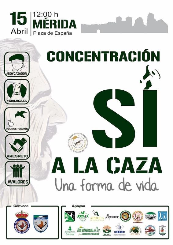 Vox apoyará a la Federación Extremeña en las concentraciones 'La caza, nuestra forma de vida'