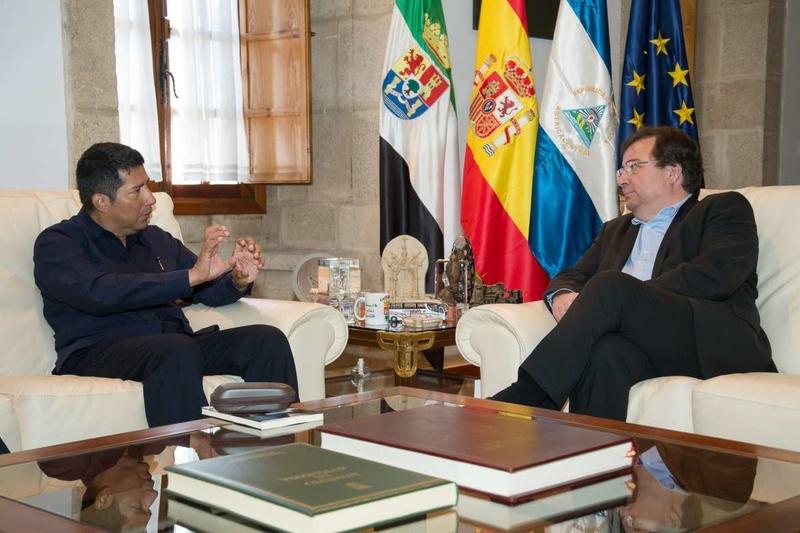 El embajador de Nicaragua en España, en Extremadura