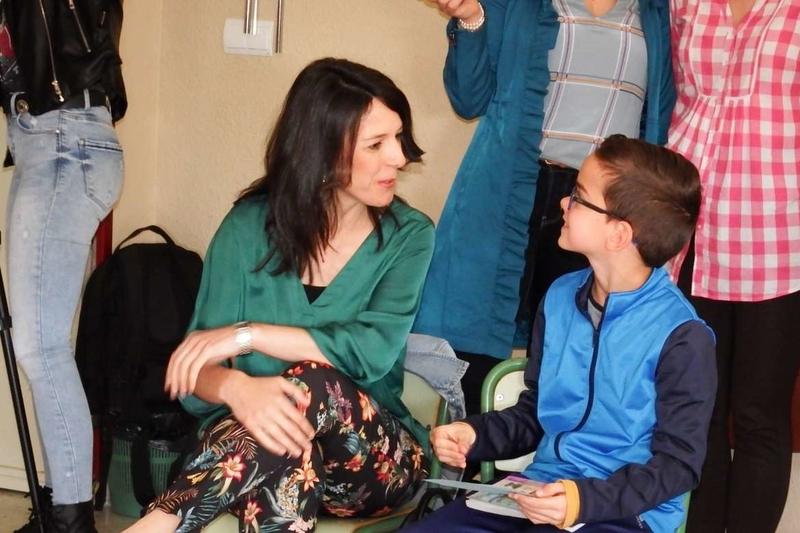 Esther Gutiérrez asiste a una experiencia del programa ¡Muévete!'