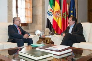 El cónsul general del Reino de Marruecos visita Extremadura