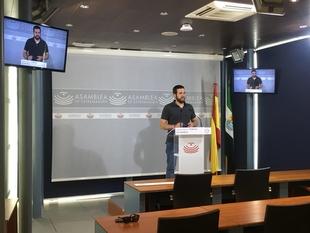 Podemos urge a que Extremadura deje de tener los apellidos de ''paro, precariedad y emigración''