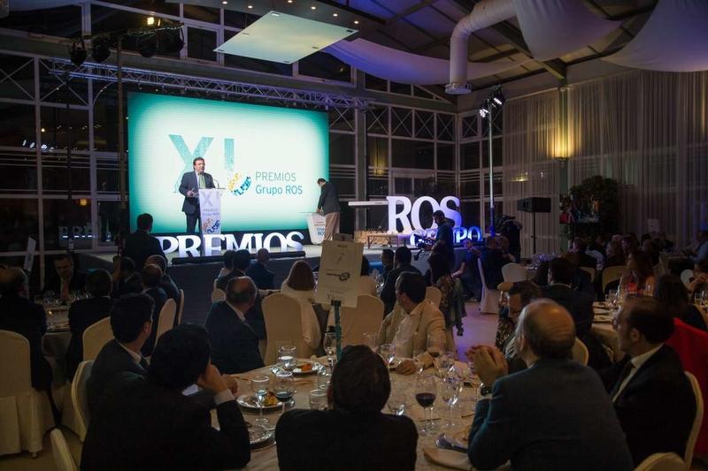 Los Premios Grupo Ros distinguen el tejido empresarial extremeño