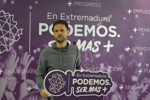 Álvaro Jaén: ''El PP ha abandonado por completo a Extremadura''