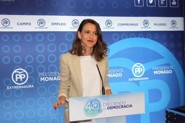 El PP critica el ''seguidismo'' de Vara y ve con preocupación los giros con Cataluña