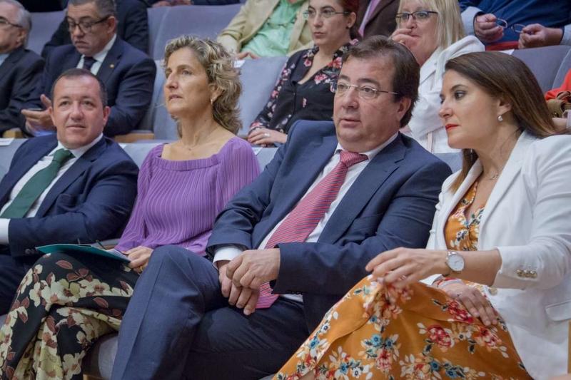El presidente de la Junta de Extremadura asiste al Plenario de la Eurorregión EUROACE