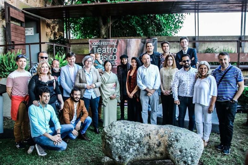 Leire Iglesias destaca la participación de las mujeres en el Festival de Teatro Clásico de Cáceres