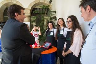 Entregados los premios Expertemprende a seis proyectos empresariales de jóvenes estudiantes extremeños de FP