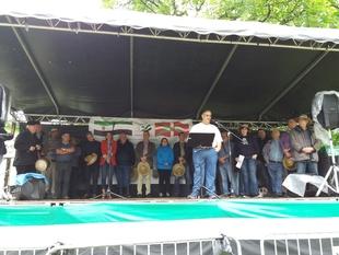 La Federación de Asociaciones Extremeñas de Eibar celebra su jornada de convivencia
