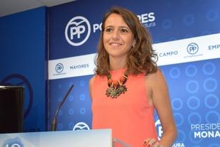 Gema Cortés: ''Si el PP estuviera gobernando, Tenorio estaría ya en Andalucía''