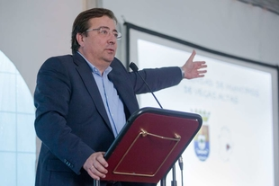 Fernández Vara considera imprescindible alcanzar un acuerdo nacional sobre el agua