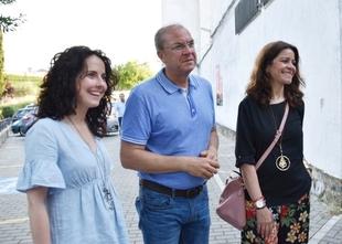 Monago destaca como ''síntoma de pluralidad'' que haya varios precandidatos a la presidencia del PP