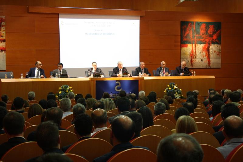 Caja Almendralejo aprueba sus cuentas de 2017 por unanimidad