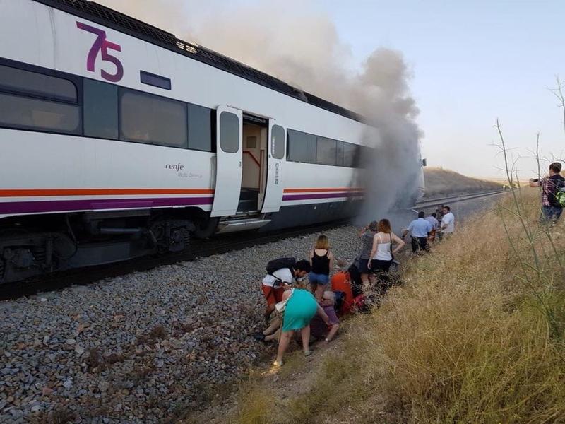UCE reclama al Gobierno central que garantice la seguridad de los pasajeros del tren