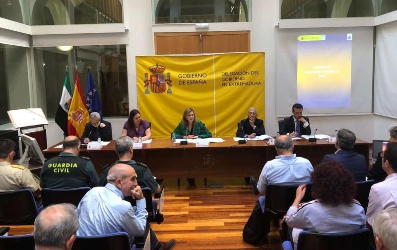 Begoña García resalta la creciente colaboración de Extremadura con Portugal en la lucha contra los incendios forestales