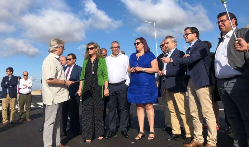 La Junta califica como nudo de transporte de primer nivel a la Plataforma Logística de Badajoz