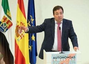 Fernández Vara defiende la participación de los gobiernos autonómicos en todos los ámbitos para crear un Estado más fuerte