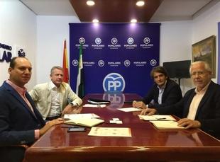 El PP y el Consejo Empresarial del Juego abordan la situación del sector y la repercusión de esta actividad en el empleo