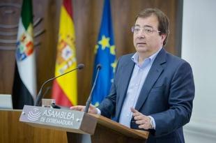 Fernández Vara aboga por incorporar otras variables además del PIB para fijar el comparativo entre comunidades autónomas