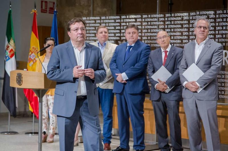 Junta, Telefónica, Google, CISE y Uex ponen en marcha el proyecto Repensar Extremadura