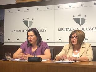 La Junta y la Diputación de Cáceres firman un convenio de coordinación de competencias propias en materia de incendios