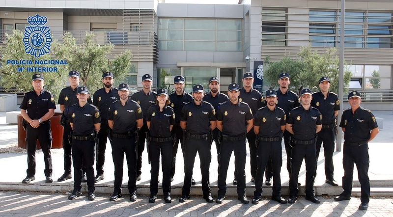 Un total de 55 policías nacionales se incorpora a varias comisarias de Extremadura en periodo de prácticas