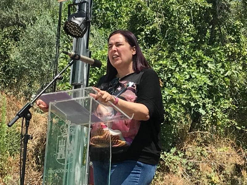 Begoña García reitera que el proyecto Mosaico intenta frenar los incendios con un nuevo tipo de plantaciones