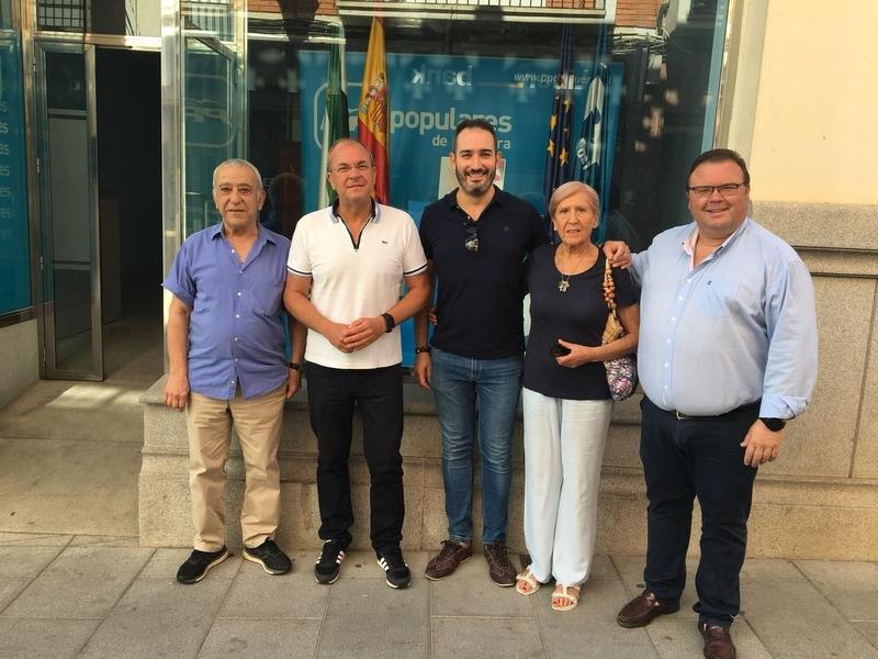 Monago acusa a la Junta de ser un gobierno ''indigno'' si no defiende el tren con la misma intensidad que ante Rajoy