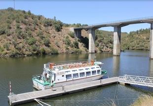 Unos 5.000 portugueses podrían llegar a Valencia de Alcántara en 2019 a través del Barco del Tajo