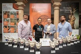 Ars Fatum crea una máscara de Venus para el Festival de Mérida
